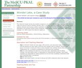 Wonder Lake, a Case Study