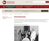 Reading Like a Historian: Social Security