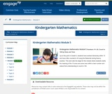 Kindergarten Mathematics Module 5:Numbers 10?20; Count to 100 by Ones and Tens