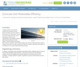 Photovoltaic Efficiency