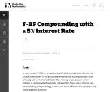 Compounding with a 5% Interest Rate