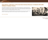 Collections of the Iowa Rural Schools Museum of Odebolt 1870-1950 - Children's Outdoor Chores