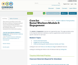 Core for Social Workers Module 3: Engagement
