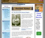 6f. The Fall of the Roman Empire