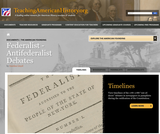 Federalists - Antifederalists Debates (TAH)