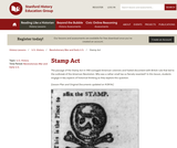 Reading Like a Historian: Stamp Act