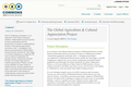 The Global Agriculture & Cultural Appreciation Project