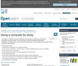 Using a Computer For Study