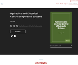 Hydraulics and Electrical Control of Hydraulic Systems