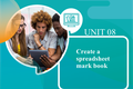 Create a Spreadsheet Mark Book