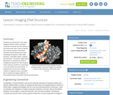 Imaging DNA Structure