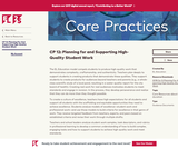 CP 12: Planning for and Supporting High-Quality Student Work