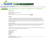 An Introduction to and Investigation on Keystone Species
