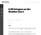 Integers on the Number Line 2