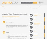 Create Your Own Astro-Music