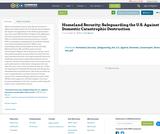 Homeland Security: Safeguarding the U.S. Against Domestic Catastrophic Destruction