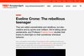 Eveline Crone: The rebellious teenager