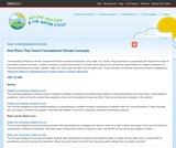 Unit Plans That Teach Foundational Climate Concepts