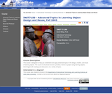 Advanced Topics in Learning Object Design and Reuse