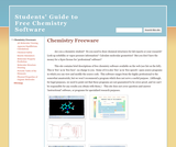 Students' Guide to Free Chemistry Software