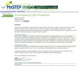 Investigating Light Properties