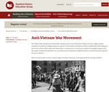 Reading Like a Historian: Anti-Vietnam War Movement