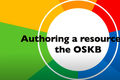 Authoring a resource on the OSKB