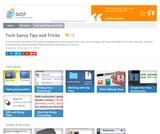 Tech Savvy Tips and Tricks Tutorial
