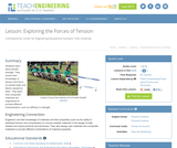 Exploring The Forces of Tension