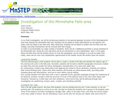 Investigation of the Minnehaha Falls Area