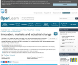 Innovation, Markets and Industrial Change