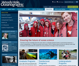Woods Hole Oceanographic Institution K-12 Education