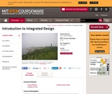 Introduction to Integrated Design, Fall 2006
