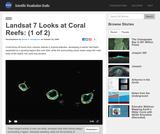 Landsat 7 Looks at Coral Reefs: (1 of 2)