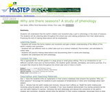 Why Are There Seasons?  A Study of Phenology