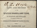 Constitution Of Coahuila And Texas (1827)