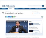 Geography of H-1B Workers