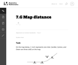 7.G Map distance