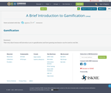 A Brief Introduction to Gamification