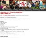 Radioactive Decay of Candium