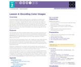 CS Principles 2019-2020 2.4: Encoding Color Images