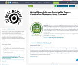 Global Nomads Group: Sustainable Energy Curriculum (Semester-Long Program)