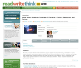 Novel News: Broadcast Coverage of Character, Conflict, Resolution, and Setting
