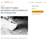 The Gulf of Tonkin Resolution and Escalation of the Vietnam War