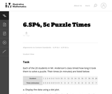 6.SP4, 5c Puzzle Times