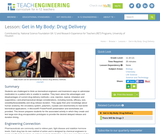 Get in My Body: Drug Delivery