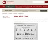 Reading Like a Historian: Salem Witch Trials