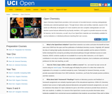 Open Chemistry: UC Irvine, UCI Open