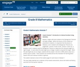 Grade 8 Module 7: Introduction to Irrational Numbers Using Geometry