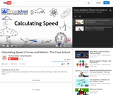 Calculating Speed | Forces and Motion | The Virtual School